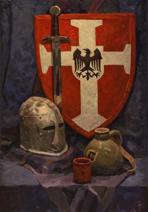 натюрморт средневековье
